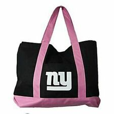 New York Giants Large Pink/Black Tote Bag