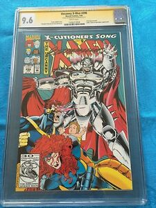 Uncanny X-Men #296 - Marvel - CGC SS 9.6 NM+ - Signed by Brandon Peterson