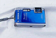 Olympus Tough TG-610 14MP Digital Camera - Blue W/ Battery