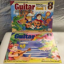 Progressive Guitar Book 1 And Book 2 1xDVD 1xCD For Book1