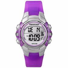 Timex Ladies Marathon Chronograph Digital Purple Watch T5K816