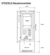 Anschlussschrank Steidele Typ A 80 55 kVA 400V