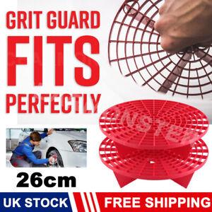 Car Auto Wash Grit Guard Insert Washboard Water Bucket Filter Anti tool 26cm x2
