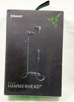 Razer Hammerhead BT Bluetooth Earbuds - Matte Black/Green
