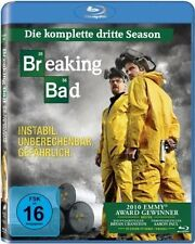 BREAKING BAD, Season 3 (3 Blu-ray Discs) NEU+OVP