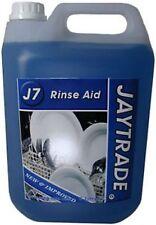 RINSE AID J7 JAYTRADE UK BRAND 5LT glasswash dishwash