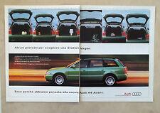E659 - Advertising Pubblicità -1997- AUDI A4 AVANT , STATION WAGON