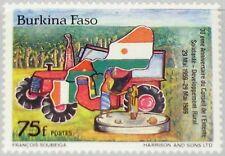 BURKINA FASO 1989 1209 874 30th Ann Council Rural Development Landwirtschaft MNH