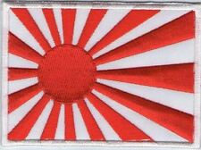 écusson ECUSSON PATCH PATCHE THERMOCOLLANT JAPON JAPAN RISING SUN 7 X 5 CMS