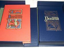 Folio Society LIBER BESTIARUM MS Bodley 764 - with Companion Volume