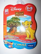 *VTECH VSMILE  LION KING SIMBA'S BIG ADVENTURE SMARTRIDGE