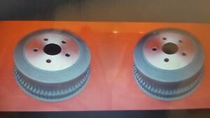 """Ford Finned drum brakes 2 1/2"""" BRAND NEW pair. Suit XW XY XA GT 351 and Mustang"""