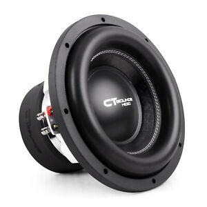 CT Sounds Meso 12 Inch Car Subwoofer 3000 Watts MAX Dual 4 Ohm Audio D4 Sub