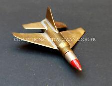 Miniature d'Avion Militaire, faites à la base Cartouche,balle. Guerre d'Algérie