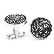 Game of thrones inspired house Targaryen Cufflinks