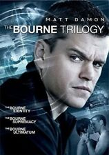 The Bourne Trilogy (DVD, 2016, 3-Disc Set) - Usually ships within 12 hours!!!