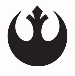 Star Wars Rebel Alliance Symbol Vinyl Die Cut Car Decal Sticker - FREE SHIPPING