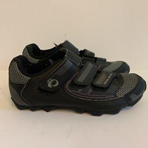 Pearl Izumi All Road III Black/Purple Cycling Shoes Shimano Cleats Womens 9 EU41