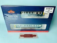 BACHMANN 'OO' GAUGE 32-905 CLASS 108 2 CAR DMU BR BLUE/GREY NEW & BOXED