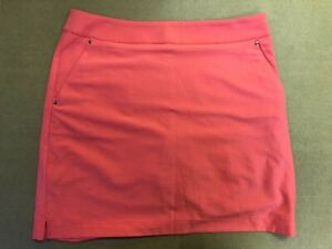 1 NWT GREG NORMAN WOMEN'S SKORT, SIZE: 4, COLOR: RED (P3)