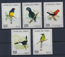 Peru 862/66 postfrisch / Vögel (6363) ..........................................