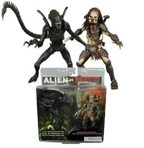 "Alien vs Predator Classic 7"" Figure 2-Pack  Xenomorph 05"
