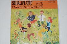 Manfred Roost, Kleiner Rundfunk-Kinderchor B. – Musik Für Vorschulkinder LP mint