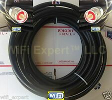 TIMES® 300' LMR600 Antenna Jumper Patch Coax Cable N Male Conectr CB HAM RF GPS