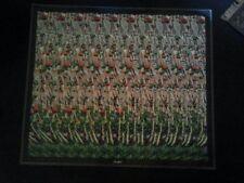 2 hidden Images Poster 3D Stereogram eye magic  Cricket  Elephant Animals 14x16