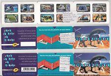 """UNIQUE  3 carnets BC403 """"fete du timbre2010""""(dont 1 ND et 1 ND +noir absent CALV"""