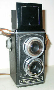 ROYCE REFLEX 6X6 TLR KAMERA MIT WOLLENSAK 4,5/75MM OBJEKTIV – USA C 1946