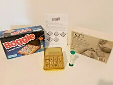 Boggle 3 minute Dice Word Game Parker Brothers Vintage