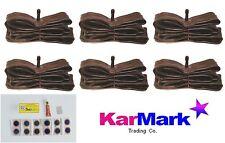 "Schrader inner tubes 26"" x 6 + FREE PUNCTURE REPAIR KIT"