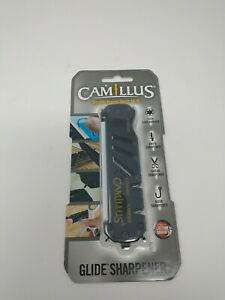 Camillus Glide Knife, Shear, & Hook Sharpener - Ceramic & Carbide - NIB Free Shi