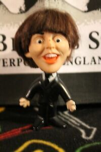 BEATLES 1964 Paul McCartney REMCO Hard Body DOLL Original UNCUT HAIR Vintage