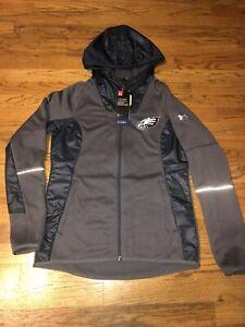 Womens Under Armour Philadelphia Eagles Combine Storm Fleece Full Zip Swacket