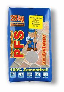 PFLASTERFUGENMÖRTEL ab 1 mm Fugenbreite | trendystone PolymerFugenSand  25 kg