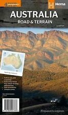 Australia Road and Terrain Map: HEMA.1.13: 2014 by Hema Maps Pty.Ltd (Sheet map, folded, 2014)