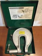 Greenlee Knockout Punch Driver No. 1731 Tool Set In Case