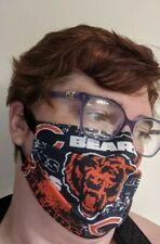 Chicago Bears Face Mask - Distressed