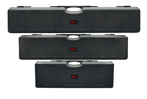 Nuprol Essentials Hard Case Airsoft Rifle Storage Black M/L/XL Wave & PNP Foam