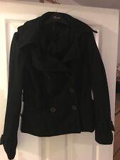 Top shop Black Jacket/Coat Size 12