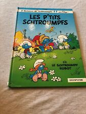 Vintage 1988 Les P'Tits Schtroumpfs Children's Book The Smurf 80s Peyo French