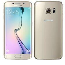 BNIB Samsung Galaxy S6 Edge 32GB SM-G925F Gold Platinum Factory Unlocked 4G GSM