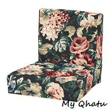 Ikea COVER for Henriksdal Bar stool Slipcover Multicolor Floral cover New