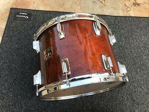 Tama Superstar Mahogany 1980's 14x10 Tom Drum