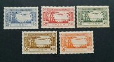 Niger SG94-98 Air Stamps LMH
