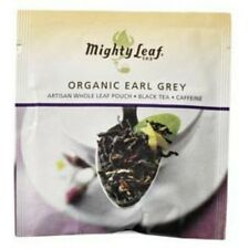 Mighty Leaf Tea, Organic Earl Grey - 100 Count Foil Wrapped Pouches