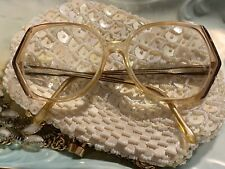 Vintage Round Pointed  Eyeglasses Frames Accents read description