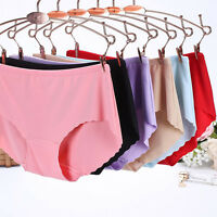 Women Invisible Seamless Soft Thong Lingerie Briefs Hipster Underwear Panties US